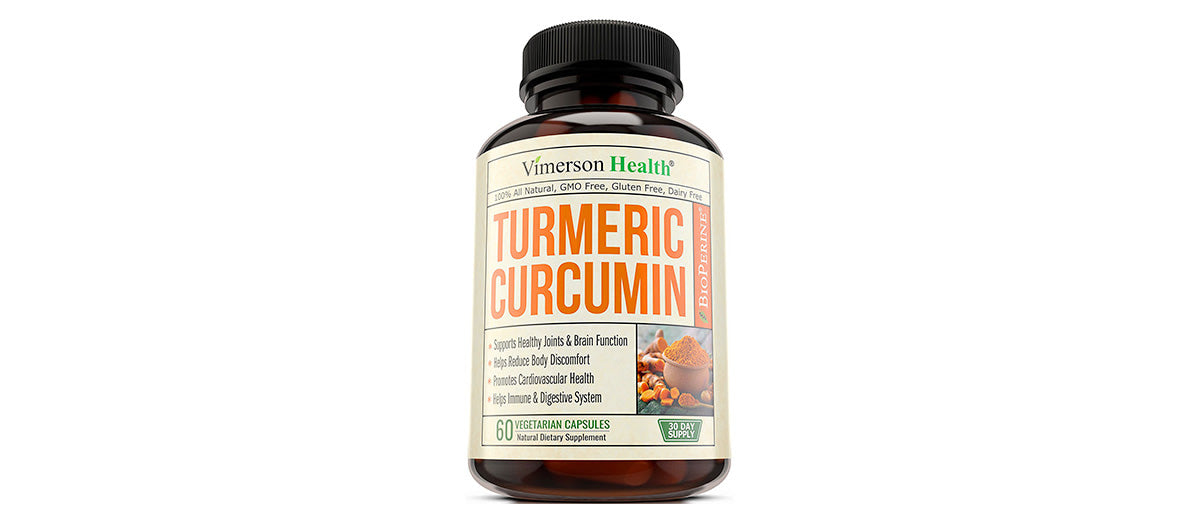 Turmeric Curcumin with BioPerine by Vimerson Health