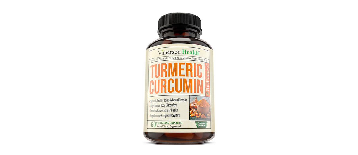Turmeric Curcumin with Bioperine Joint Pain Relief by Vimerson Health