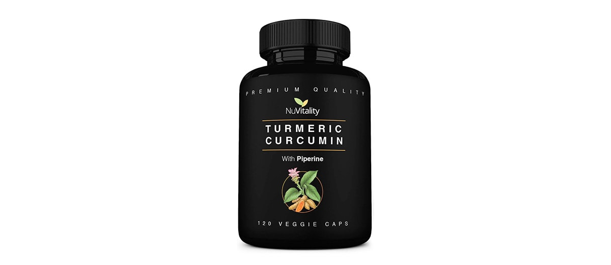 Turmeric Curcumin with Piperine by NuVitality