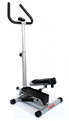 Twister Stepper with Handle Bar by Sunny Health & Fitness