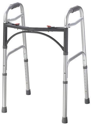 Two Button Folding Walker by Drive Medical