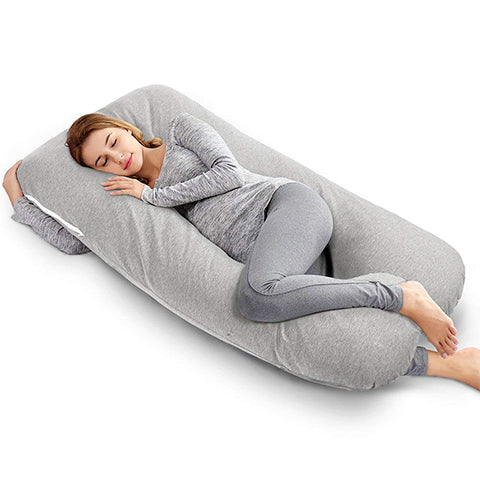 U-Shaped Full Body Pregnancy Maternity Pillow by Ang Qi