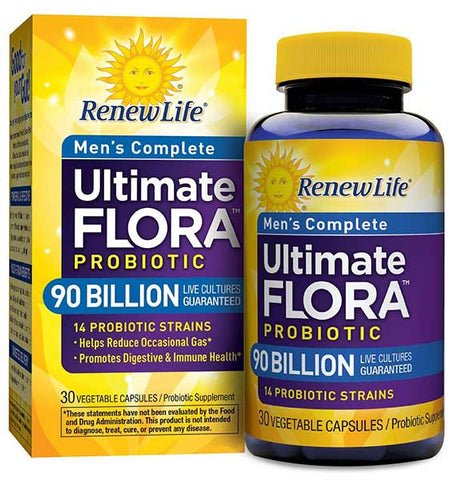 Ultimate Flora Probiotic for Men by Renew Life
