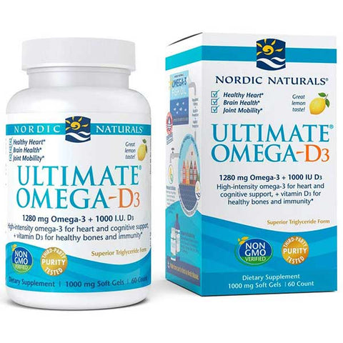 Ultimate Omega-D3 by Nordic Naturals