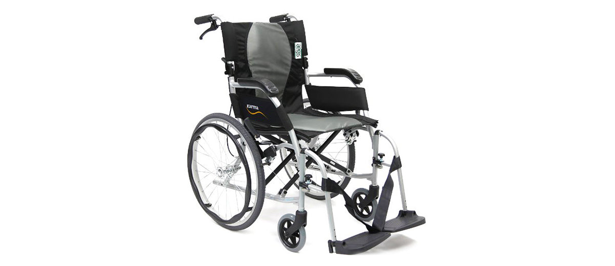 Ultra Lightweight Folding Wheelchair by Karman Healthcare