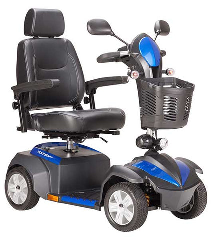 Ventura DLX 4 Wheel Scooter by Drive Medical