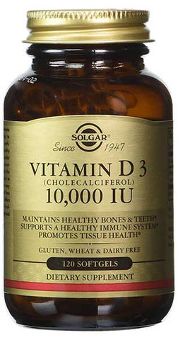 Vitamin D Softgels by Solgar