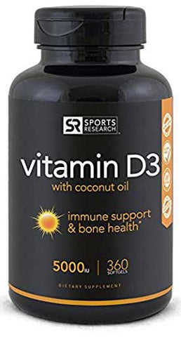 Vitamin D Supplement by Sports Research