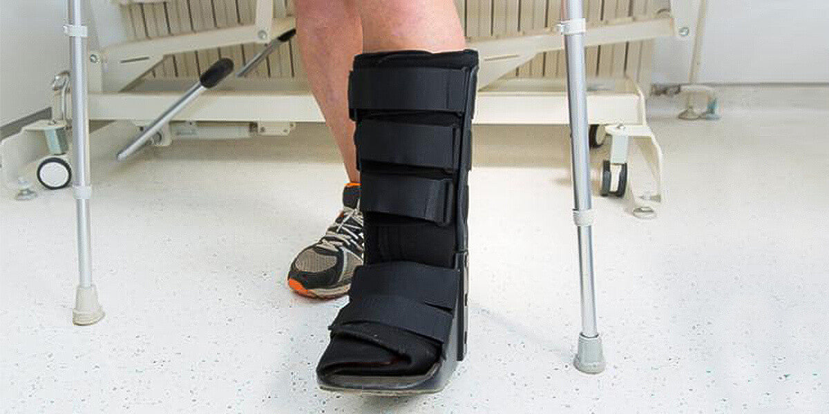 walking boot for sprained ankle
