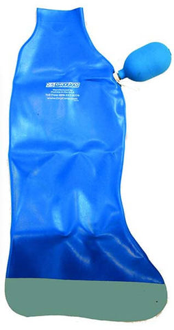 Waterproof Full Leg Cast Cover by DryCorp