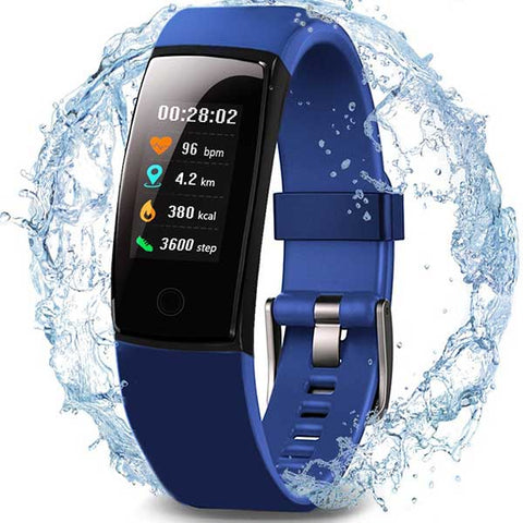 Waterproof Health Tracker with Heart Rate by MorePro