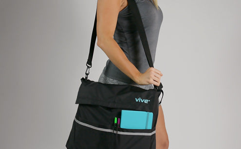 Wheel chair bag can be use as sling bag
