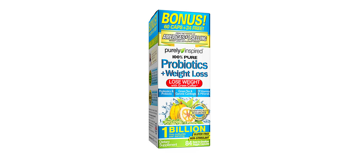 Weight Loss Probiotics by Purely Inspired