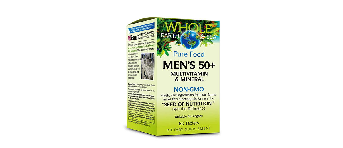Whole Earth & Sea Multivitamins by Natural Factors