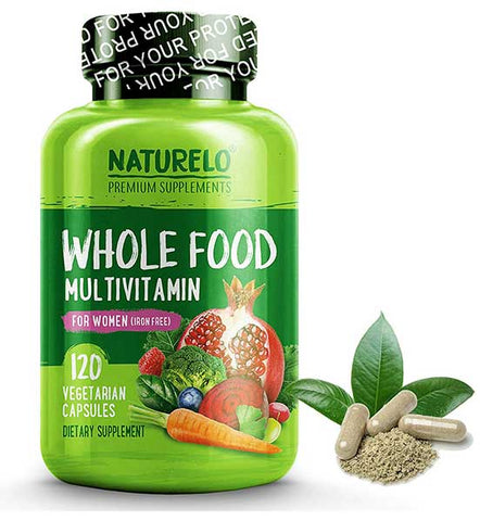 Whole Food Multivitamin for Women by NATURELO