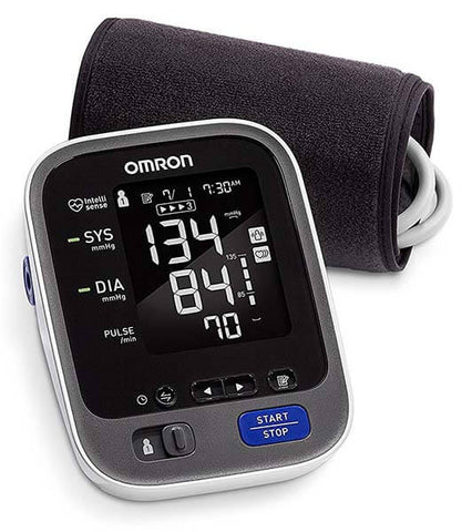 Wireless Bluetooth Upper Arm Blood Pressure Monitor by Omron
