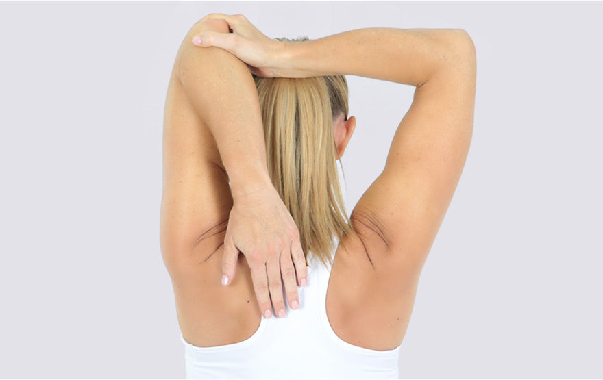 Woman Stretching Elbow
