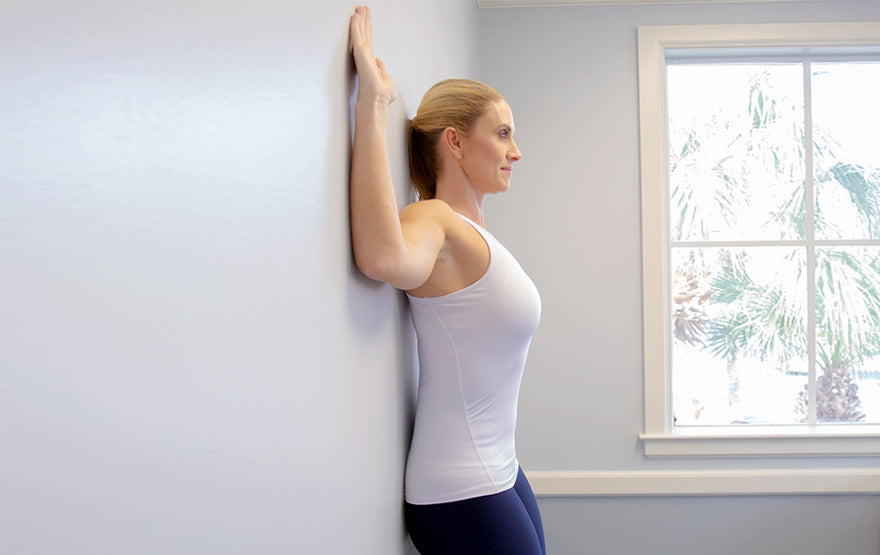 wall exercise for posture