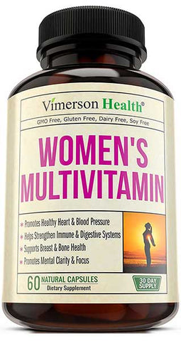Women's Daily Multivitamin Supplement by Vimersion Health
