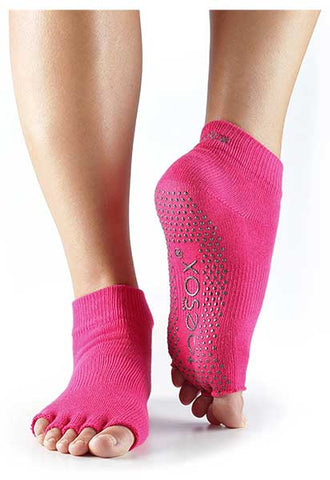 Women's Half-Toe Non-Slip Socks by Toesox