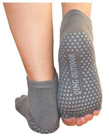 Women's Toeless Non-Slip Yoga Socks by Quing Outdoor