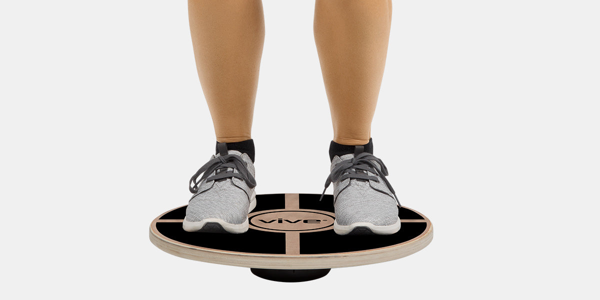 Wooden Balance Board by Vive