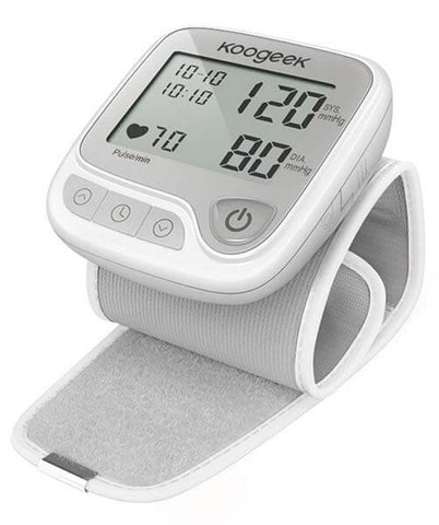 Wrist Blood Pressure Monitor with Heart Rate Detection by Koogeek