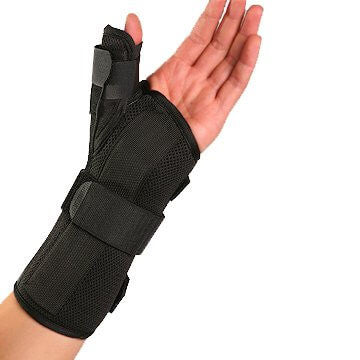 Wrist Brace with Spica Thumb Support by Therapist's Choice