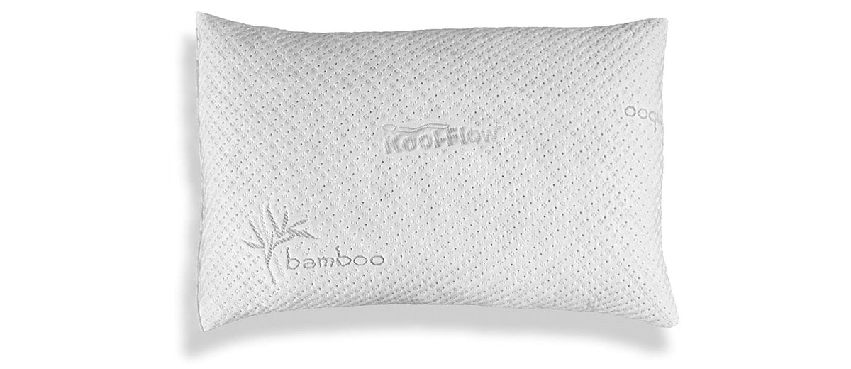xtreme comforts bamboo shredded memory foam pillow