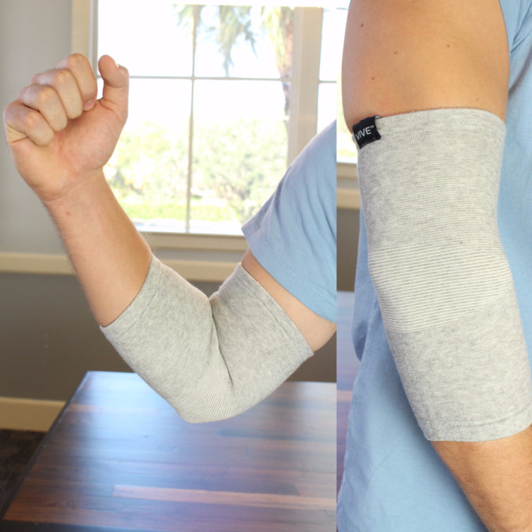bamboo compression sleeve side by side
