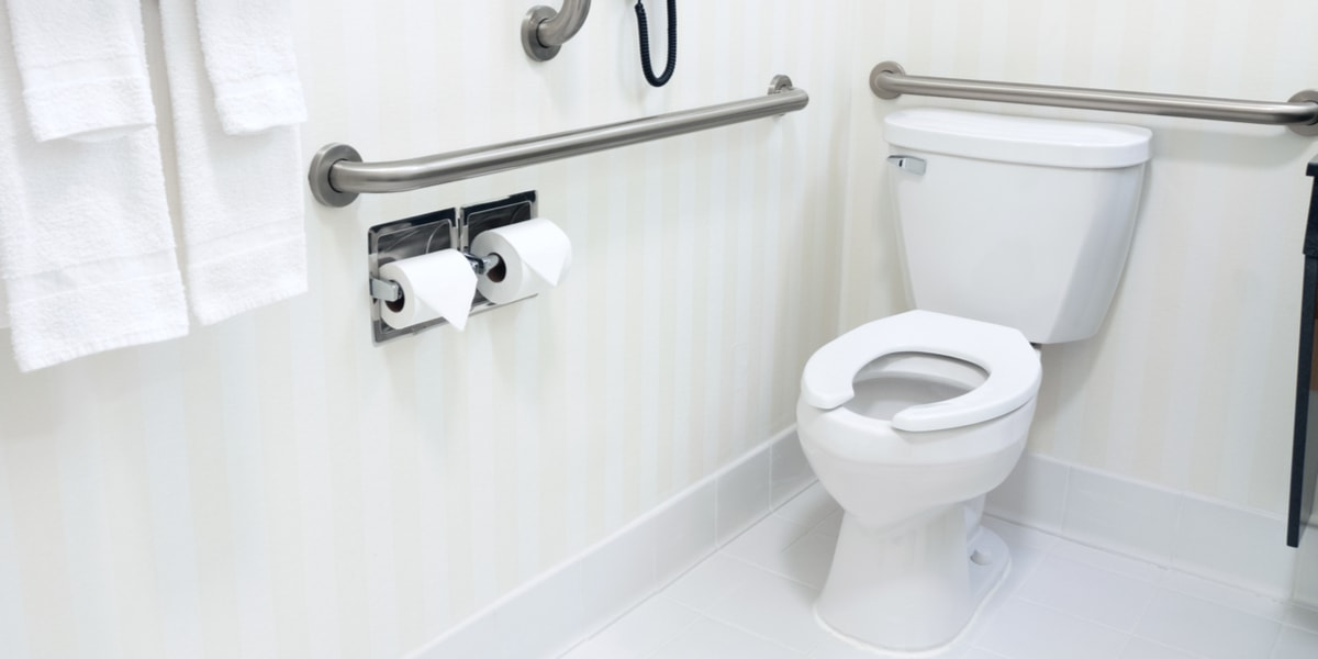 11 Best Grab Bars for Toilet Safety - Feb. 2018 Review - Vive Health