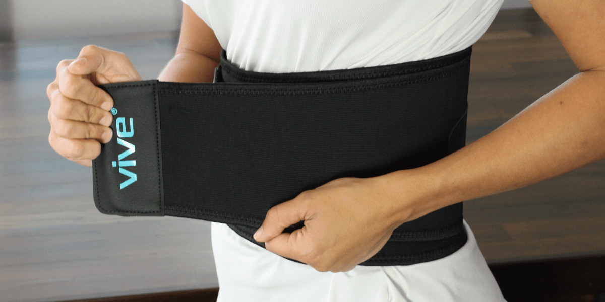 lower back brace by vive