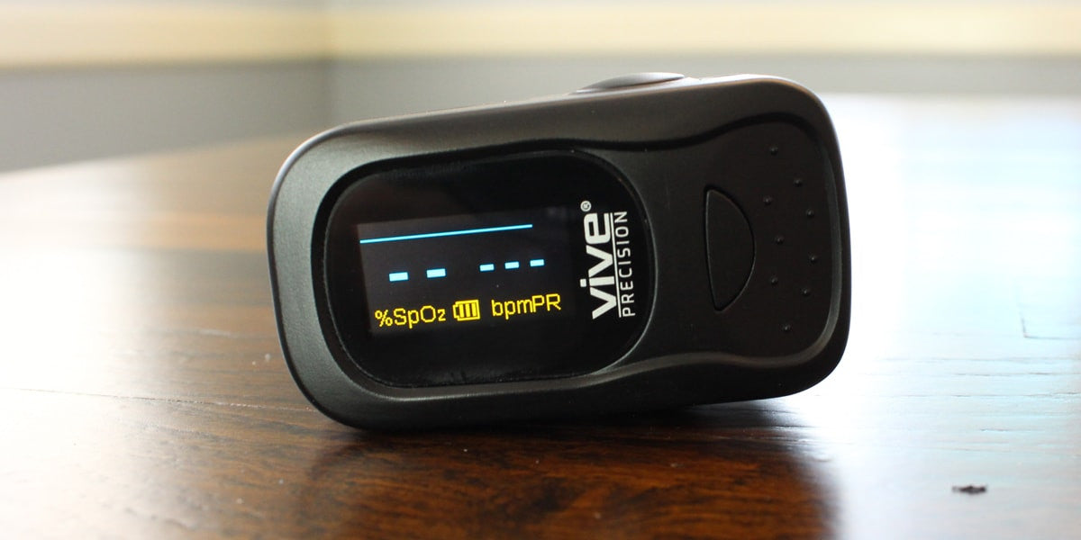 Vest finger pulse oximeter by vive
