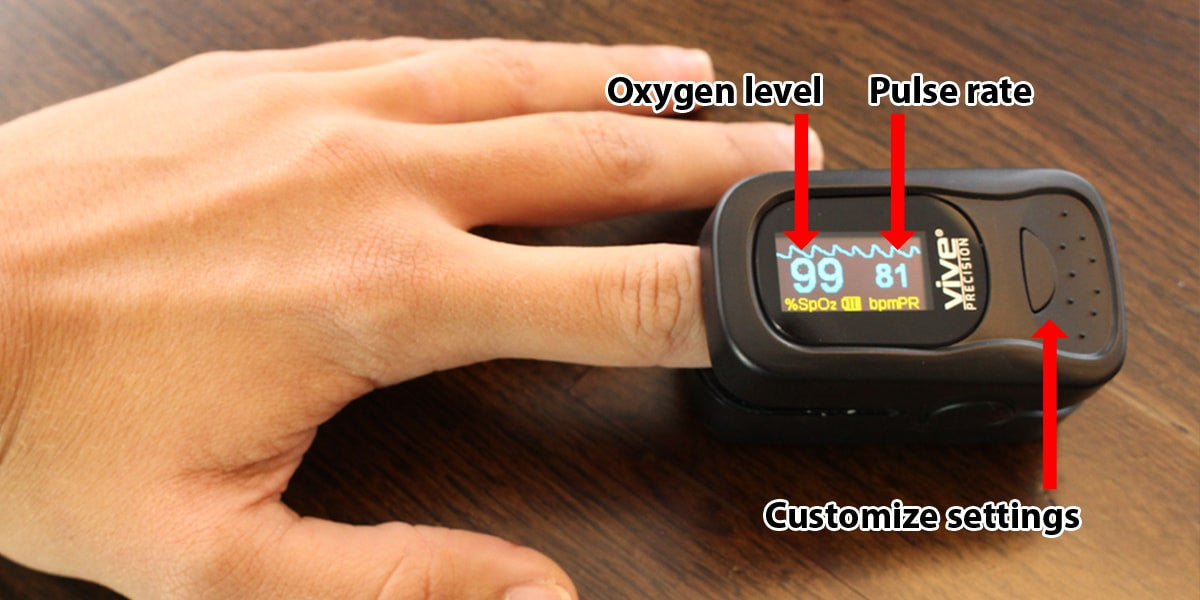 Best finger pulse oximeter features