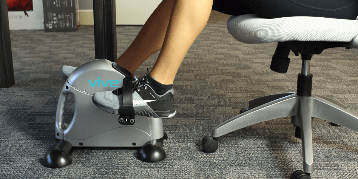 best under desk pedal exerciser