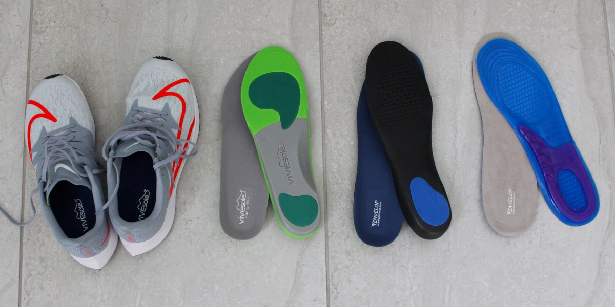 Insoles by ViveSole and Envelop