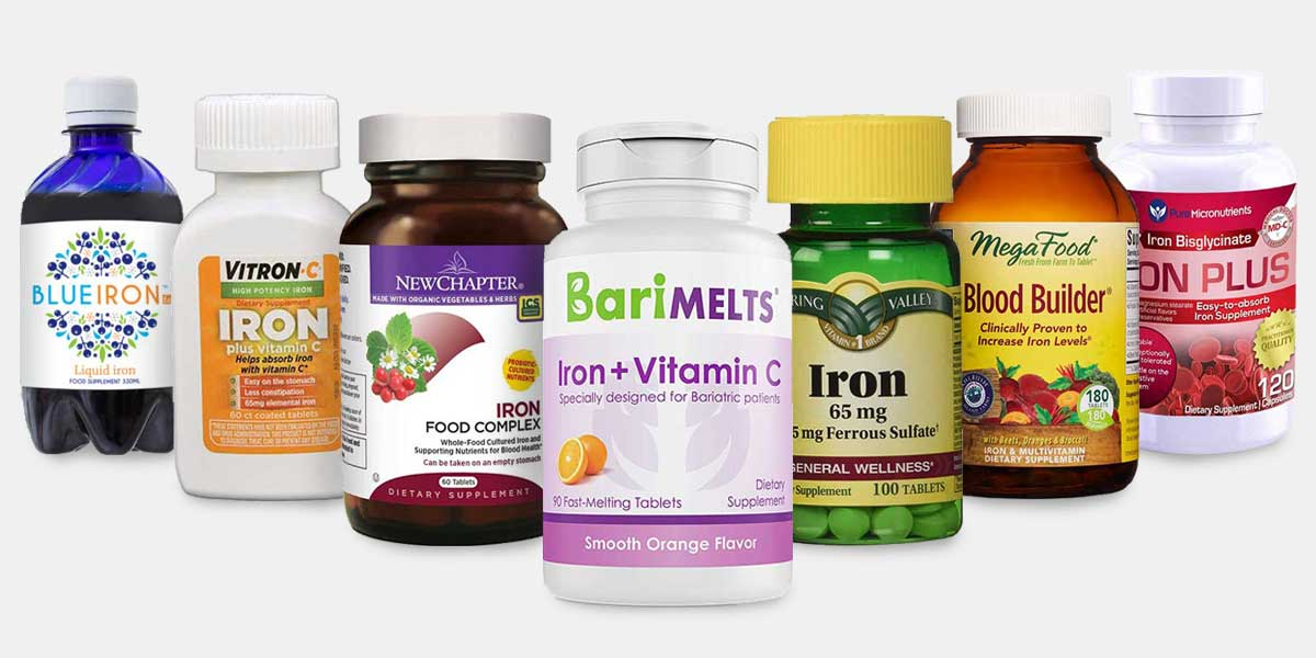 different brands of iron supplements