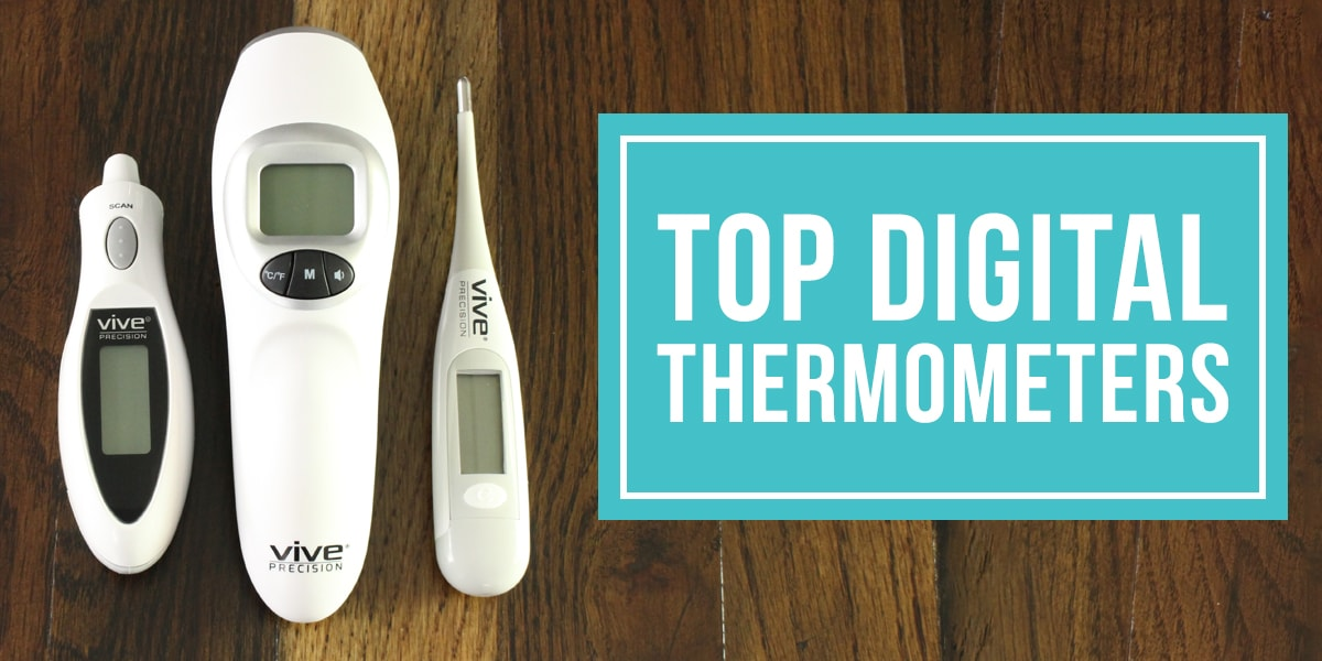 top digital thermometers