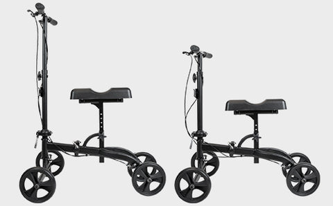Knee Walker adjustable handle & knee cushion