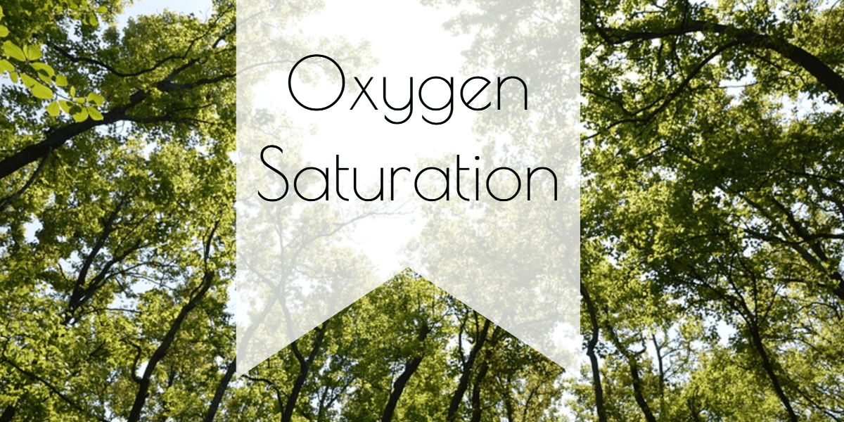 trees_title Oxygen Saturation