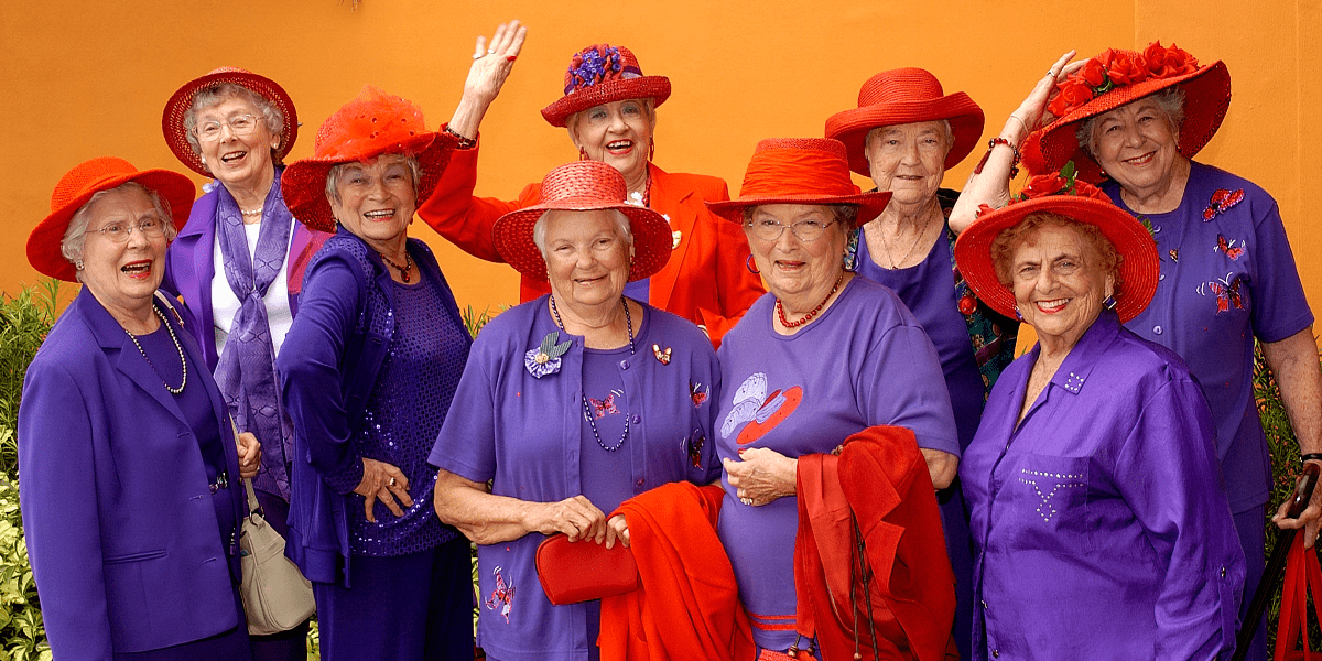 women of red hat society