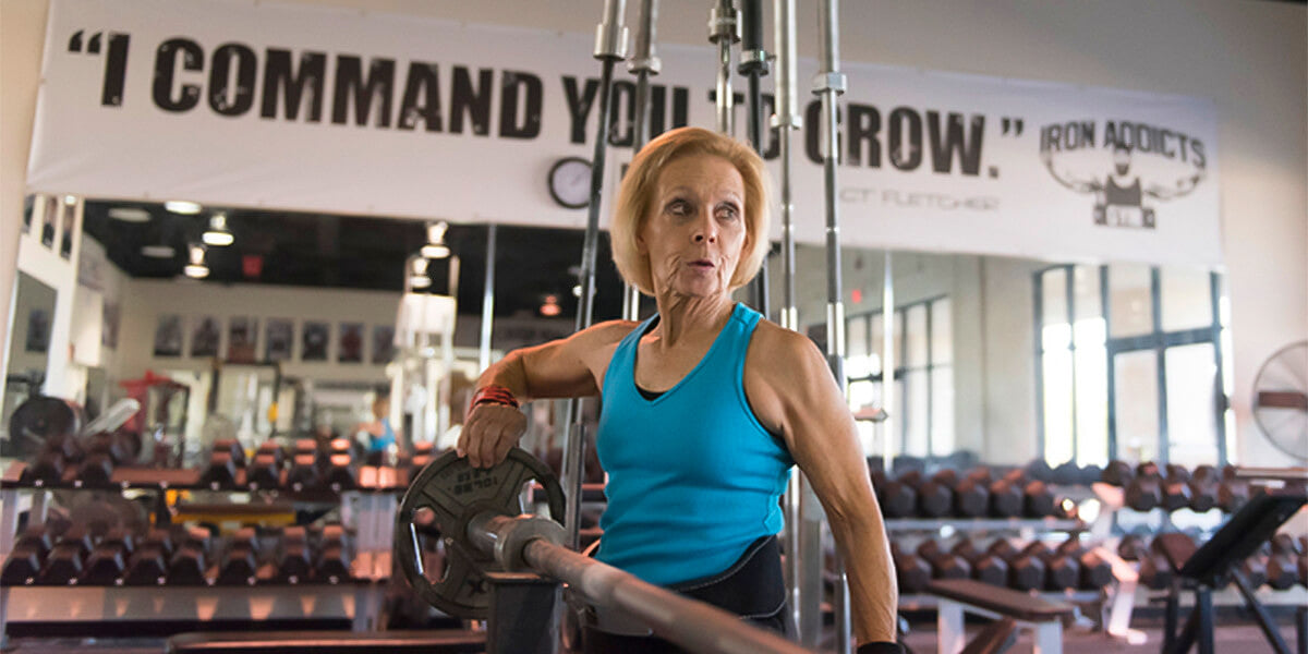 building muscle after 50