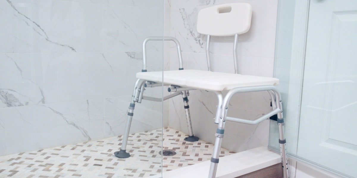 Choosing The Best Shower Chair Vive Health
