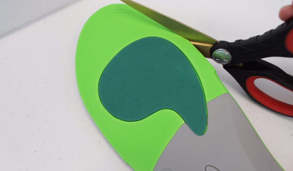 trim insoles for custom fit