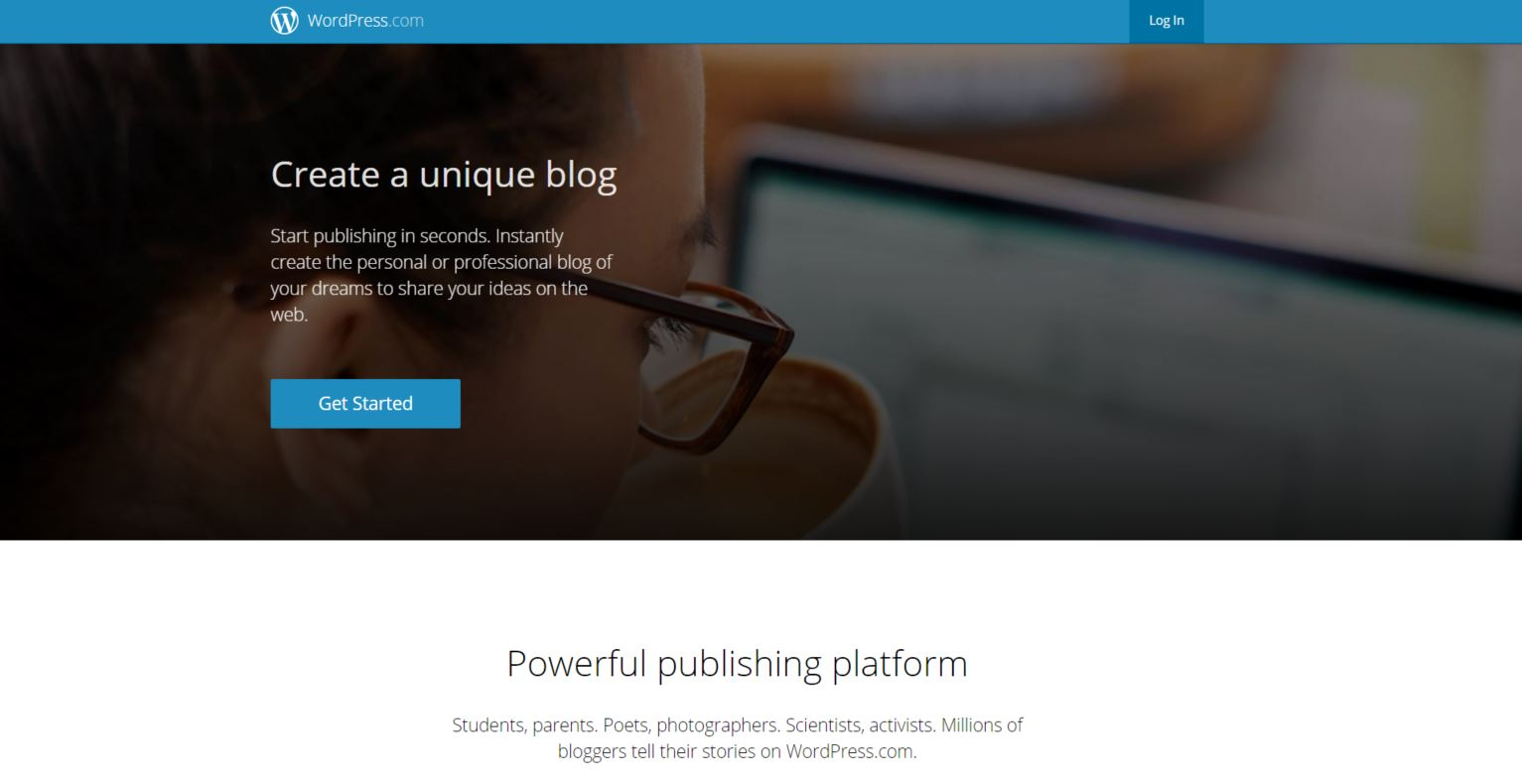 wordpress about page