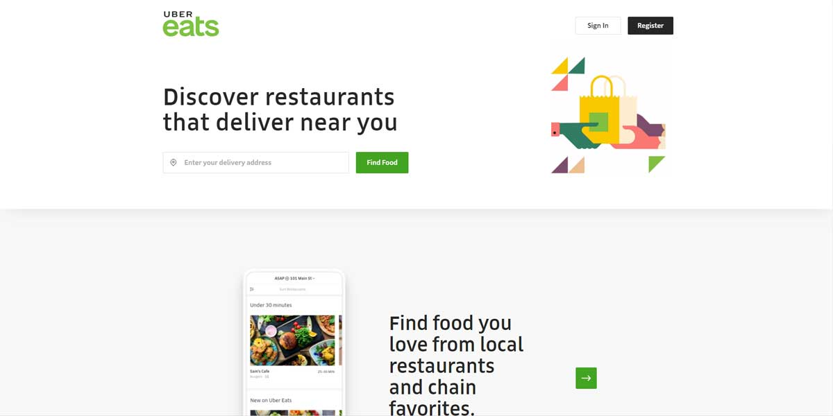 Gift Certificate for Uber Eats by uber eats