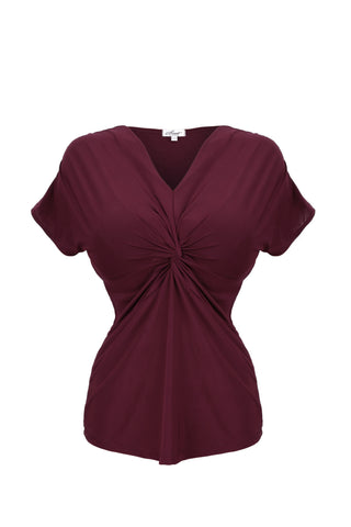 Wine knot front top