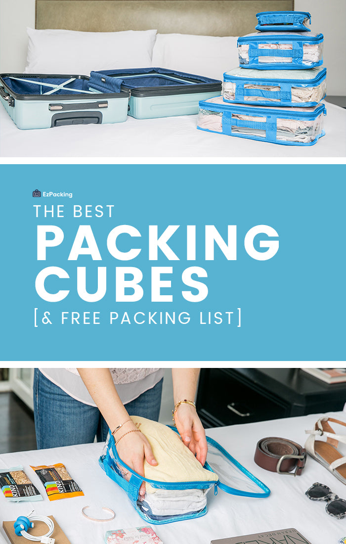 Best packing cubes for carryon luggage
