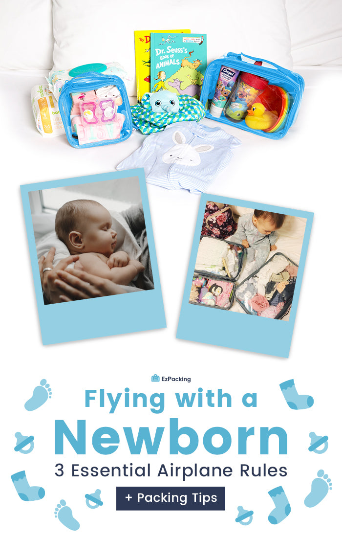 Essential Airplane Rules When Flying With a Newborn