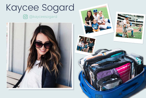 Traveling tips from Kaycee Sogard, baseball player wife